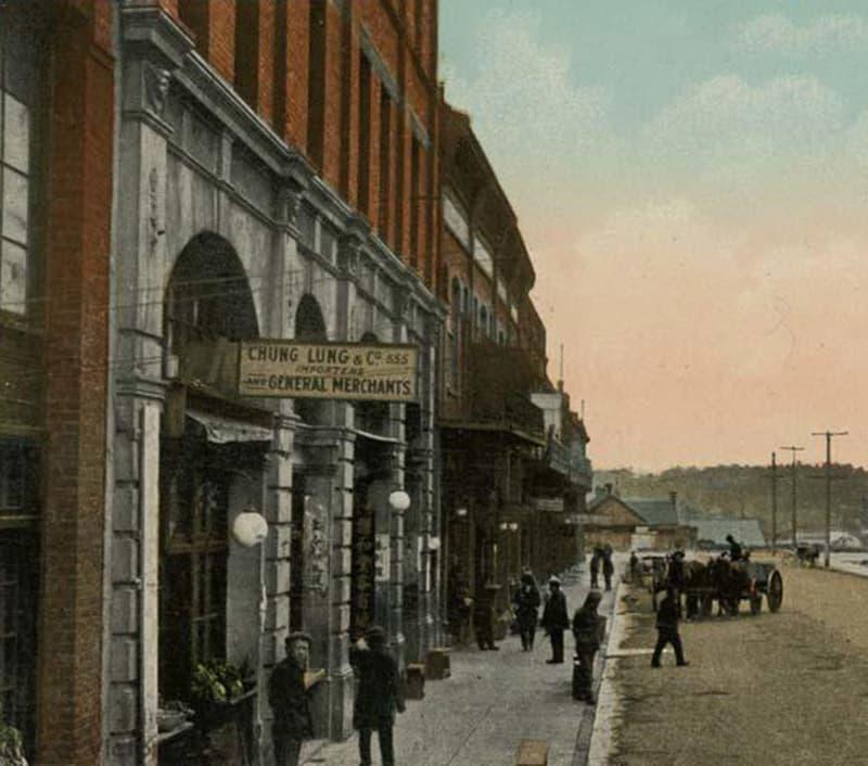 Early fisgard street