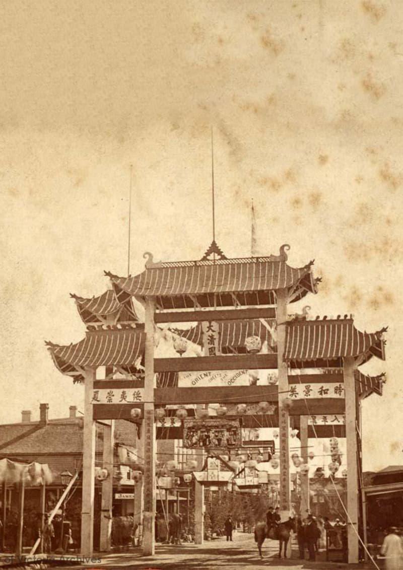 Gates of Chinatown Victoria BC
